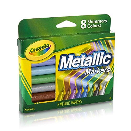 Crayola Metallic Markers, 8 (Crayola Metallic Markers)