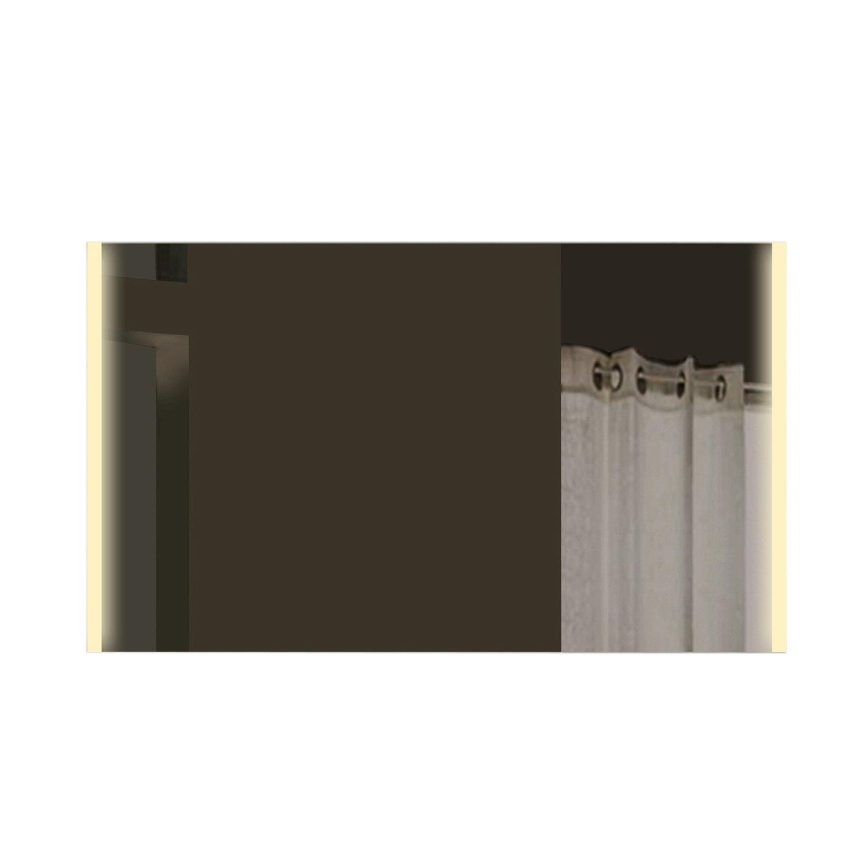 Lux-aqua Lichtspiegel Badspiegel Badezimmerspiegel mit Licht in warm & kaltweiß - 100x72cm