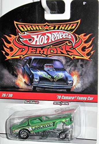 Hot Wheels Drag Strip Demons #26 '70 Camaro Funny -