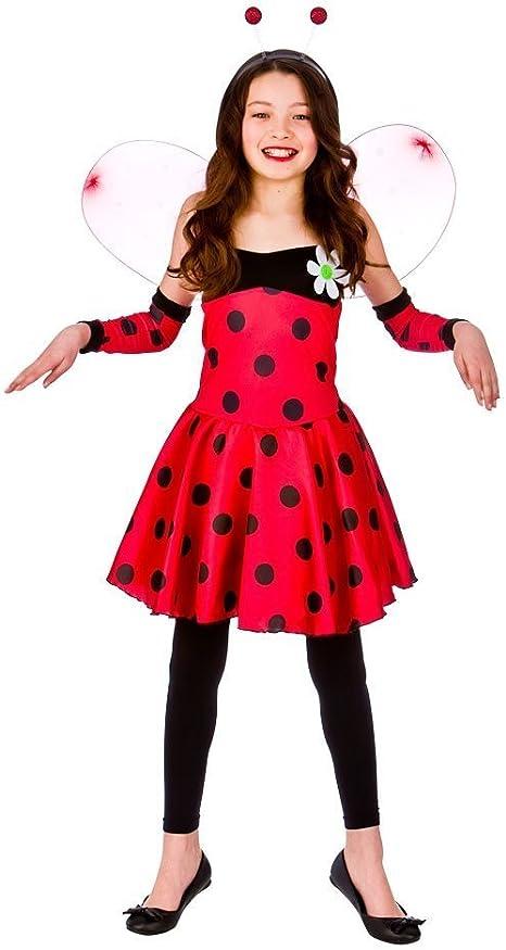 Wicked Costumes Lovely Ladybug Niños Disfraz Grande 8-10 años ...