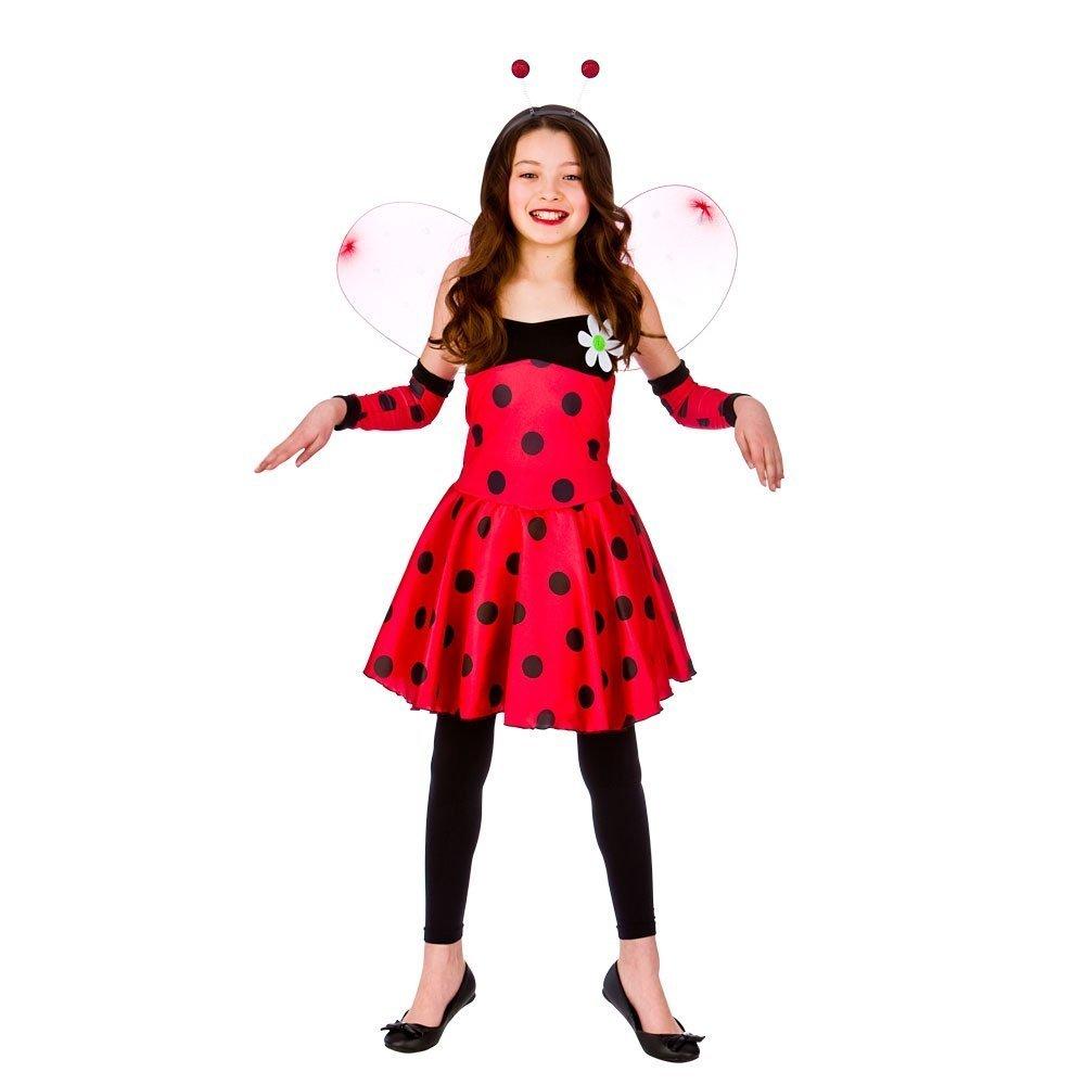 Lovely Ladybug niños Disfraz Talla Pequeños (3-4 años): Amazon.es ...