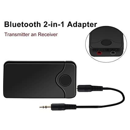 DC 5V Bluetooth 3.0 3.5mm Audio Music Transmitter Stereo Adapter for TV PC MP3