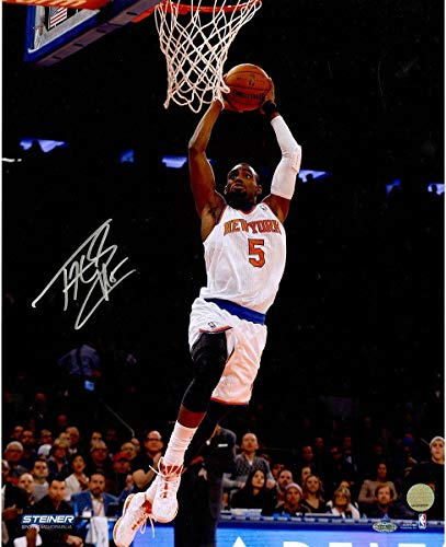 Tim Hardaway Jr Signed Two Handed Dunk 16x20 Photo - Steiner Sports Certified - Autographed NBA Photos