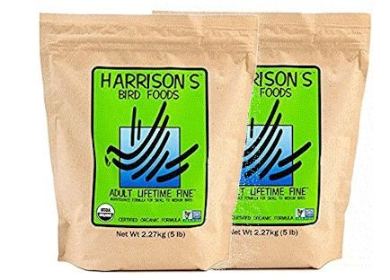Harrisons Adult Lifetime Fine 5 lb (2 Bag Value Pack) by Harrisons Bird Foods