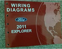 2011 ford explorer suv truck electrical wiring diagram service shop rh amazon com 2011 ford explorer speaker wiring diagram