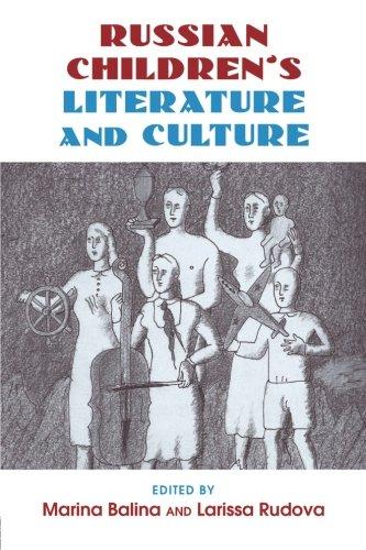 Read Online Russian Children's Literature and Culture pdf epub
