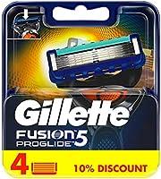 Gillette Fusion ProGlide men's razor blade refills, 4 count