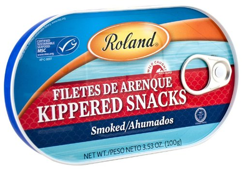 Roland: Kippered Snacks 3.53 Oz (18 Pack)