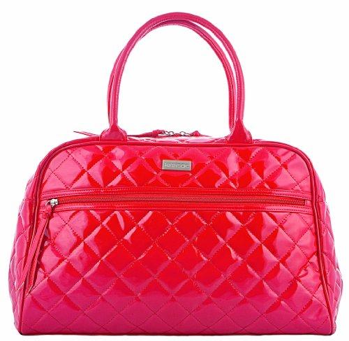 Kiwisac pour Bellemont 8001 Paloma - Bolso cambiador, diseño brillante, color rojo