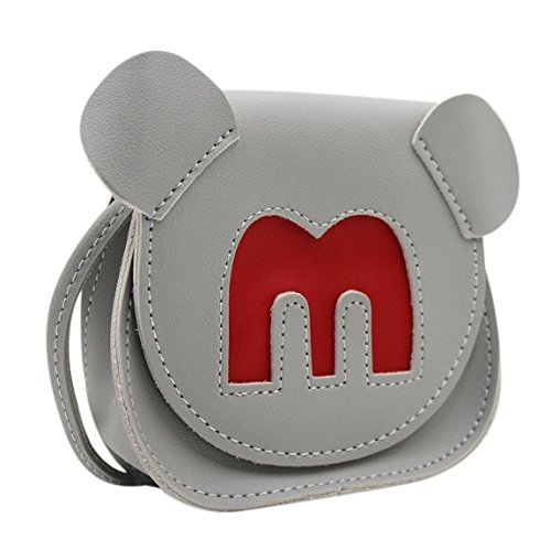 Satchel Purse Cute us Bags Crossbody Shoulder Fashion Bowknot Small Grey Single Bag Dog Coin Wallet handbags B wxzEz7Bq