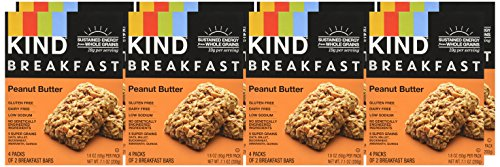 Large Product Image of KIND Breakfast Bars, Peanut Butter, Gluten Free, Non GMO, 1.8oz, 32 Count
