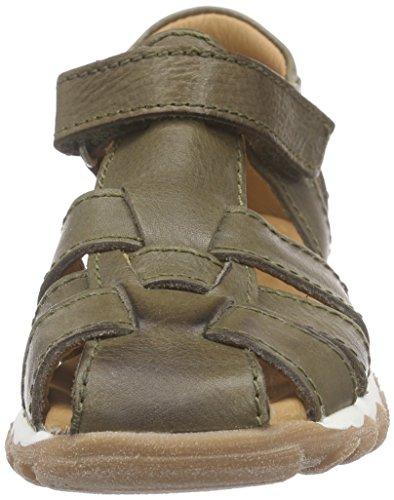 Bisgaard Sandals - Sandalias Cerradas Unisex Niños Grün (35 army)