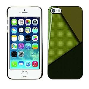 [Neutron-Star] Snap-on Series Teléfono Carcasa Funda Case Caso para iPhone 5 / 5S [Patrón Negro Líneas abstractas]