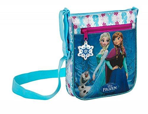 Die Eiskönigin Schultertasche, Schminktasche und Geldbörse, blau