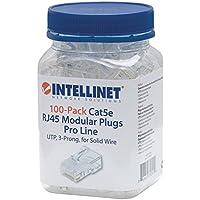 ICI790512 - INTELLINET 790512 CAT-5E 3-Prong Modular Plugs, 100 pk