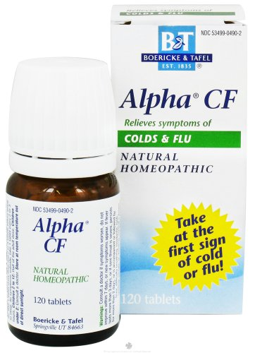 Alpha CF (Cold/Flu) Bonus Pack - 120 - Tablet