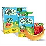Go Go Squeez Fruit Sauce, Apple Banana, 360g per Unit (4 X 90g per Pouch)