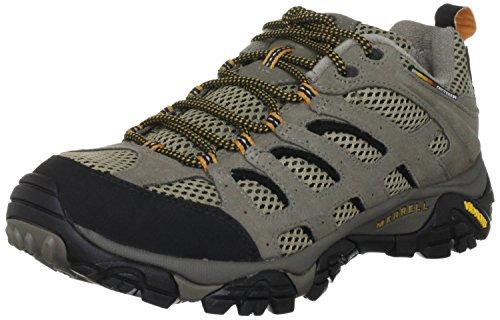 Merrell Men's Moab Ventilator Hiking Shoe - Walnut 9 2E US (Merrell Hiking Shoes Moab)