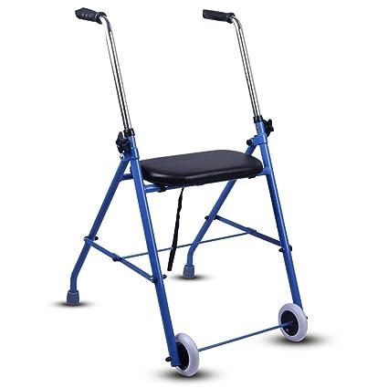 Andador de aluminio con asiento | Andador plegable con ...