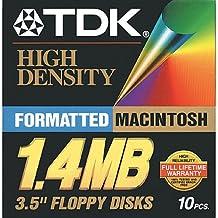 TDK High-density floppy desks Mac (10pk)
