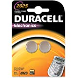 Duracell 2025 Batterie, Grigio Cromato