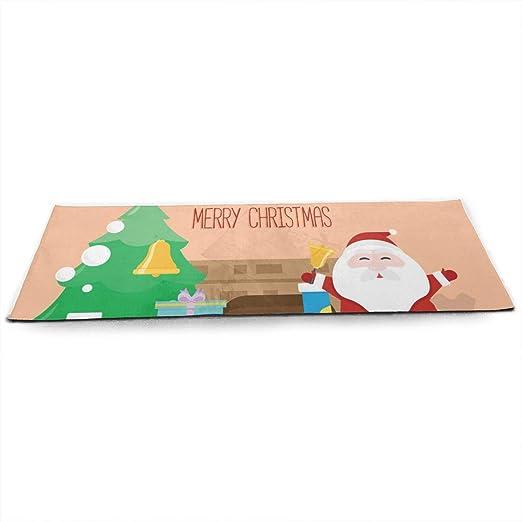 LinJxLee Santas Coming Yoga Mat Eco Friendly Non Slip ...