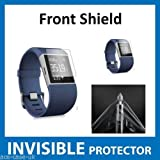 Protecteur d'écran INVISIBLE Fitbit Surge Fit Bit Watch (Protecteur Avant inclus) Protection Grade Militaire Exclusive à ACE CASE