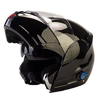 Viper RSV-131 - Casco con visera frontal abatible para motocicleta, con Bluetooth 3.0