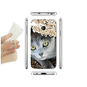 FUNDA CARCASA SLIM CAT GUARDA PARA NOKIA LUMIA 640 XL TPU