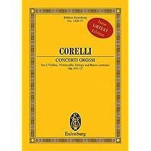 Concerto Grossi, Op.6/1-12
