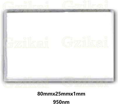 Gzikai 650nm 25mmx1mm Optical AR-IR Glasses Filter UV AR IR Cut Filter for Camera Camcorder Lens M12 etc