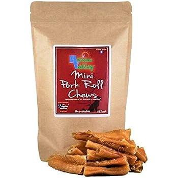 Amazon.com : Holsome Valley Pork Roll Dog Chews-All
