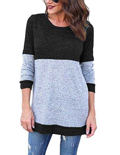 Walant Colorblock Knitted Sweaters T shirt