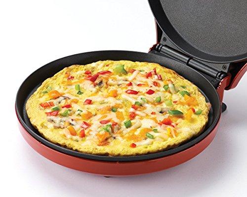 Betty Crocker BC-2958CR Pizza Maker, 1440 Watts, Red