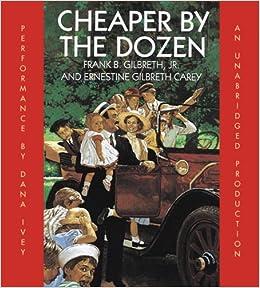 Amazoncom Cheaper By The Dozen  Frank B Gilbreth  Follow The Author