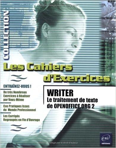 Writer le traitement de texte d 2 pdf epub csacookbookscom - Convertisseur word open office ...