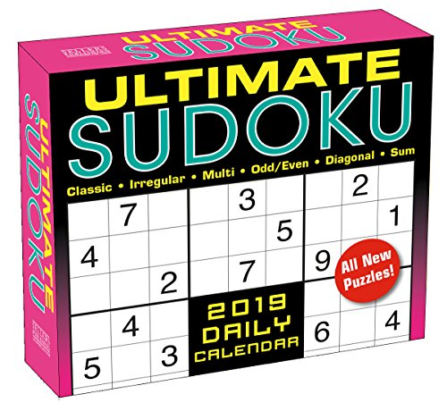 - Ultimate Sudoku 2019 Boxed Daily Calendar