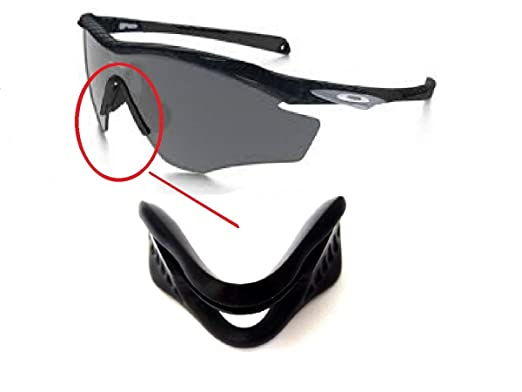 eafb237b24 Galaxy Nose Pads Rubber Kits For Oakley M2 Frame Sunglasses Black Color  Black Size  Does not fit M Frame 2.0 or M Frame  Amazon.co.uk  Clothing