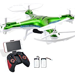 Quadcopter Drone with FPV WIFI Camera