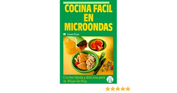 Cocina fácil en microondas (Spanish Edition): Professor ...