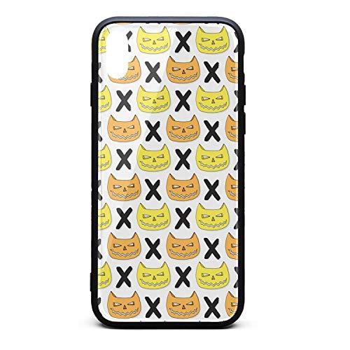 ZaiyuXio iPhone Xs Max Case Cats Skull Halloween