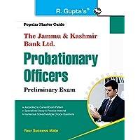 The Jammu & Kashmir Bank Ltd. Probationary Officers (Preliminary) Exam