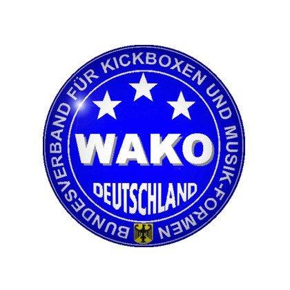 "TOP TEN Rucksack - Tasche WAKO blau orange ""L"" Large 8002-6L"