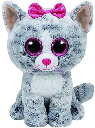cf17df305d6 Ty Beanie Boo - Kiki Cat  Amazon.co.uk  Toys   Games