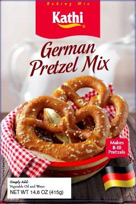 - Kathi German Pretzel Mix, 14.6 oz. Box, 3 Pack