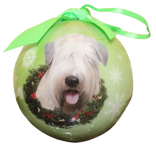 Wheaten Terrier Christmas Ornament Shatter Proof Ball Easy To Personalize A Perfect Gift For Wheaten Terrier Lovers