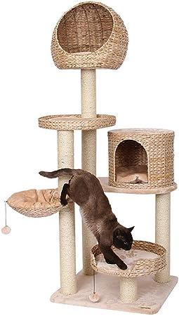 Árboles para gatos Juguete del gato grande del árbol del gato del gato columpio Torre de
