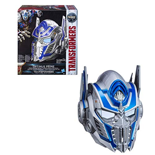 Transformers OPTIMUS PRIME VOICE CHANGER HELMET THE LAST KNIGHT]()