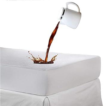 Cubierta de colchón, de AGIA TEX, resistente al agua, transpirable, contra las