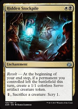 Magic: the Gathering - Hidden Stockpile - Aether Revolt